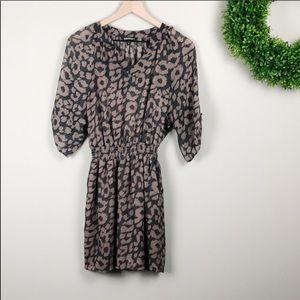 Express | 3 quarter sleeve elastic waist dress